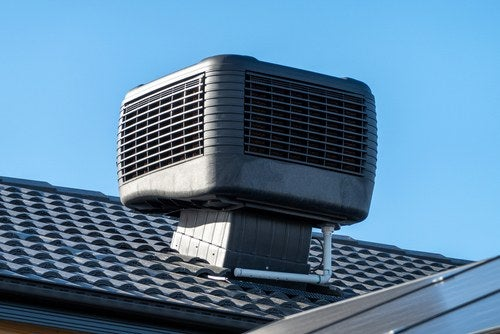 evaporative cooler vent