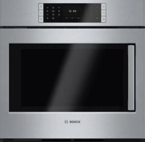 Bosch side-opening oven