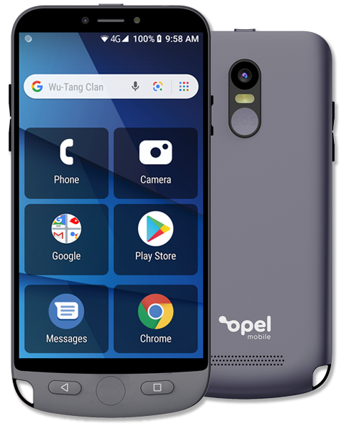 The OPEL EasySmart 2 4G, a phone for seniors