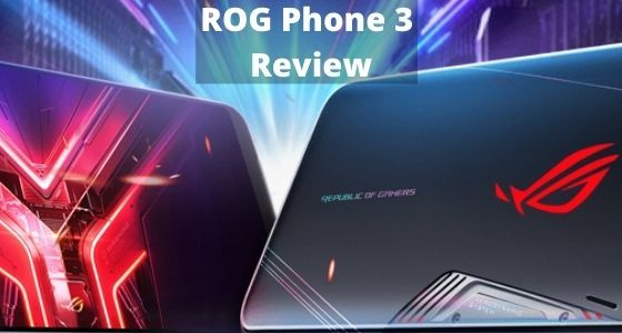Art of the ROG Phone 3, a gaming smartphone