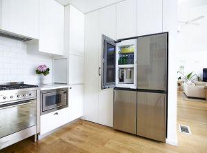 Samsung French door fridge CES 2021