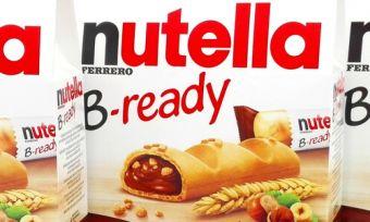 Nutella B-ready bars