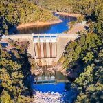 snowy hydro aerial view