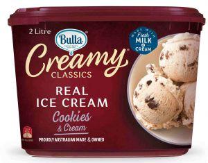 Bulla ice cream tub review