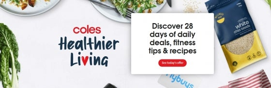 Coles Healthier Living