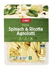 Coles fresh pasta review