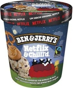 Ben and Jerry's Netflix Tub