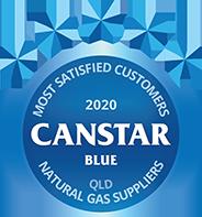 Canstar Blue Qld gas award 2020