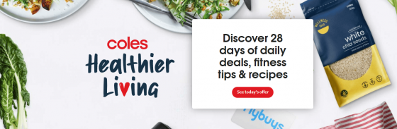 Coles 28-day Healthier Living'