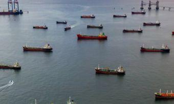 many gas ships