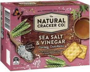 The Natural Cracker Co crackers review