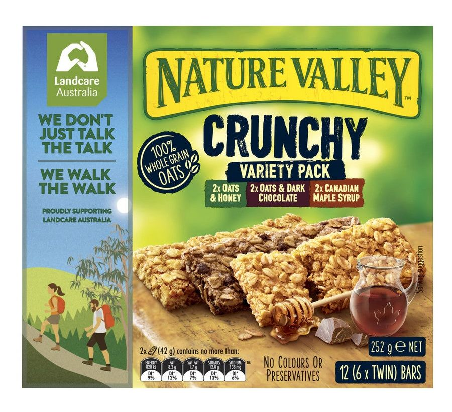 Nature Valley muesli bar review