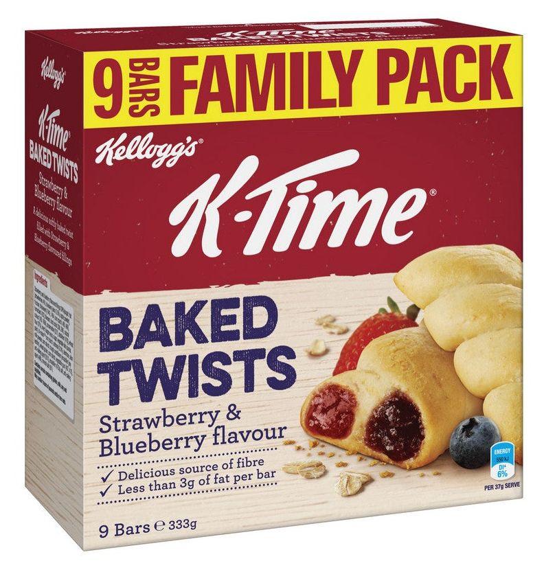 K-Time Kelloggs muesli bar review
