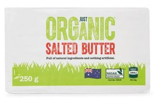 ALDI Just Organic butter review