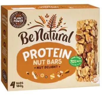 Be Natural muesli bar review