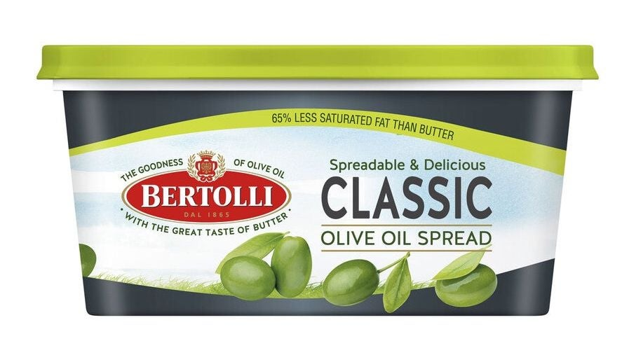 Bertolli margarine table spread review