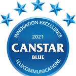 Canstar Blue Innovation Excellent Award Telecommunications