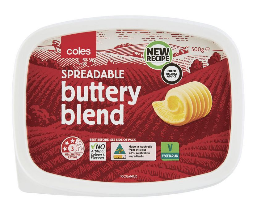 Coles margarine table spread review