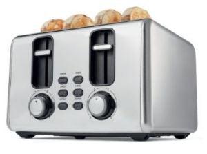 Kmart 4-Slice Stainless-Steel Toaster