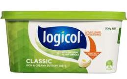 Logicol margarine table spread review