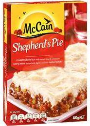 McCain frozen pies review