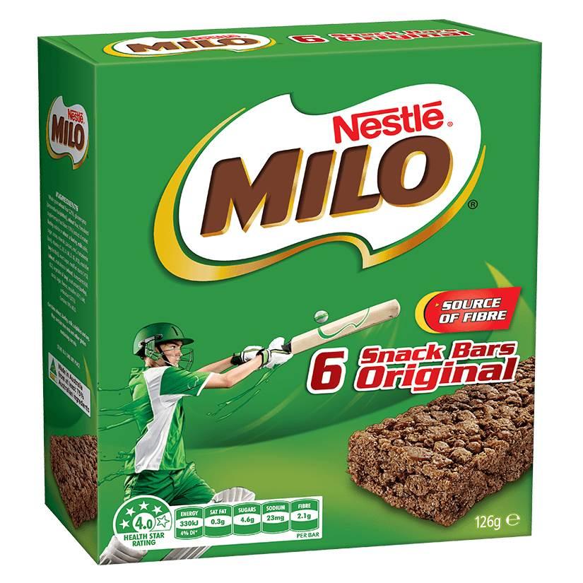 Milo muesli bar review
