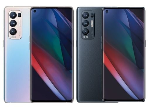 The OPPO Find X2 Neo, in its two available colours