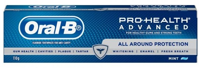 Oral B toothpaste review
