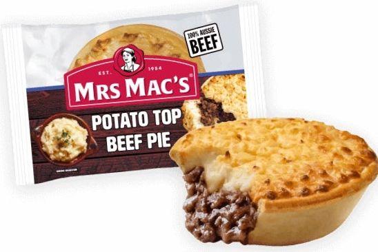 Mrs Mac's frozen pies review