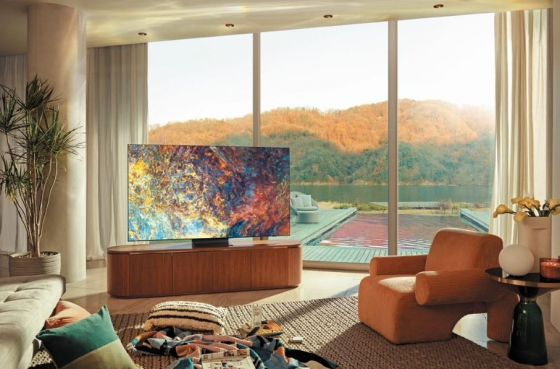 Samsung new 4K TV with QLED