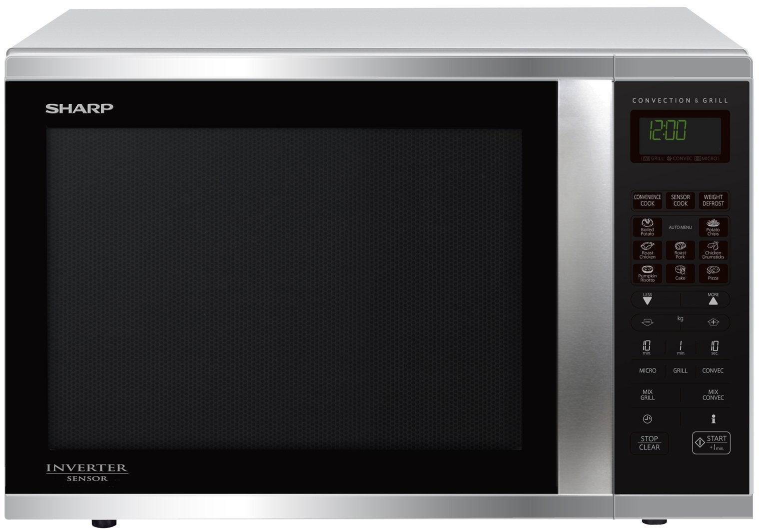 Sharp microwave review