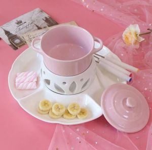 Tinkle Glory Ceramic Chocolate Fondue Set