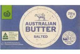 Woolworths butter review
