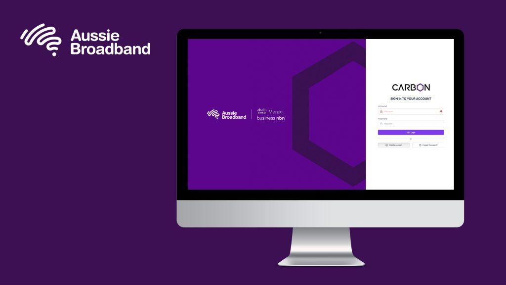 Carbon business portal by Aussie Broadband