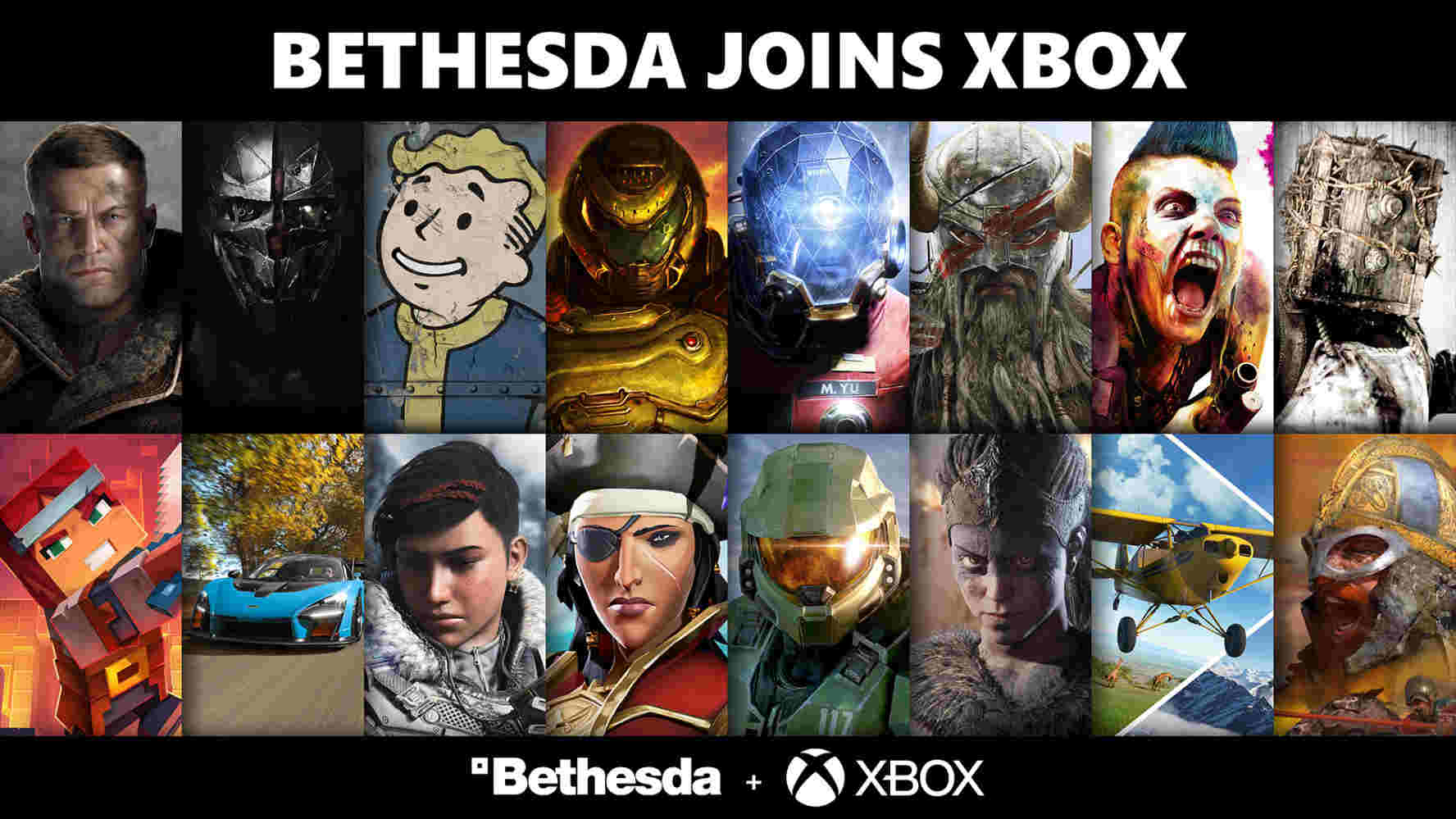 Several video game characters from Bethesda and Microsoft