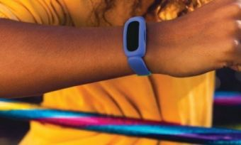 A child using the Fitbit Ace 3