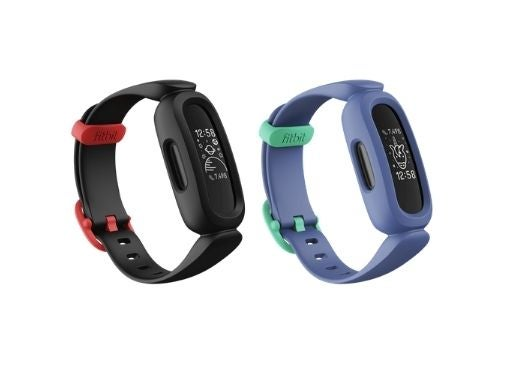 The Fitbit Ace 3 smartwatch in two colours