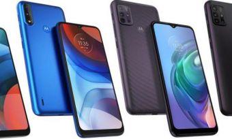Range of new Motorola smartphones