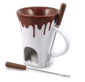 Swissmar Nostalgia 4-Piece Chocolate Fondue