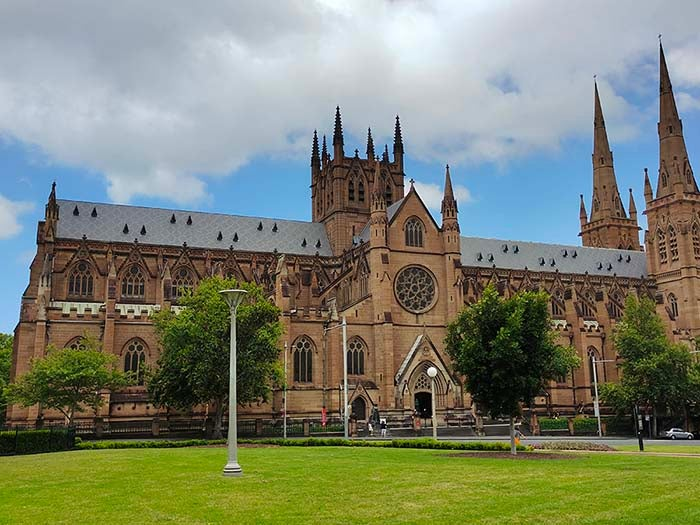 St. Mary's Cathedral at Hyde Park