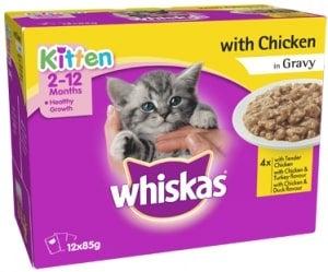 Whiskas Kitten Chicken & Gravy
