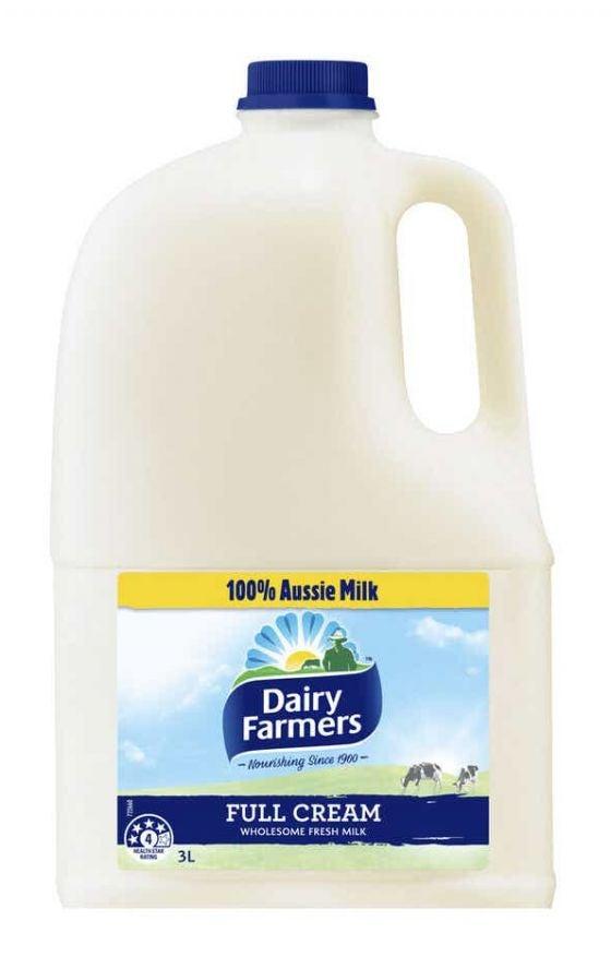 Dairy Farmers fresh full cream milk review