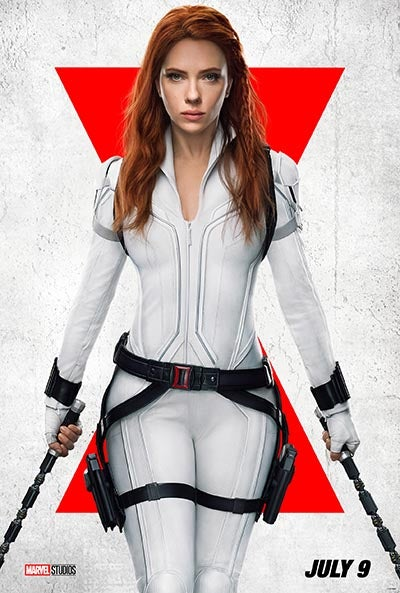 Poster from Black Widow Marvel movie