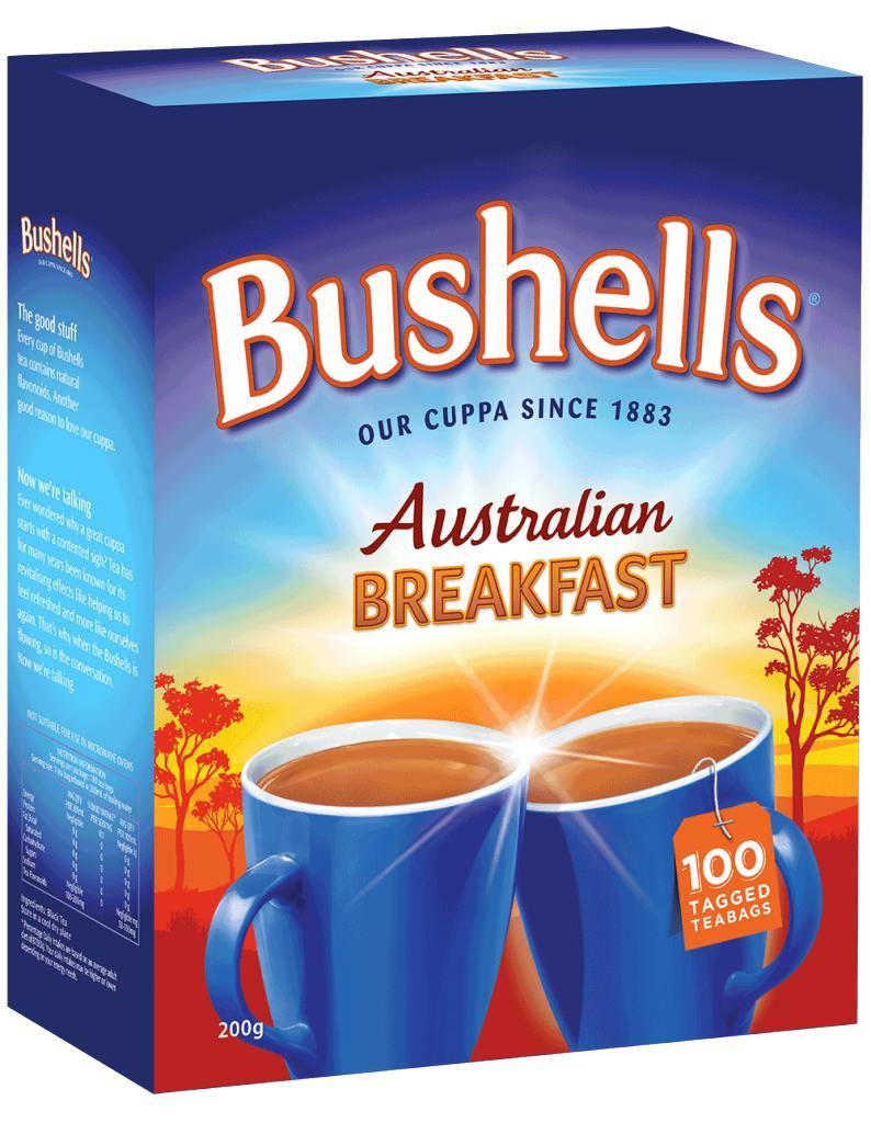 Bushells black tea review