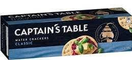 Captain's Table crackers review