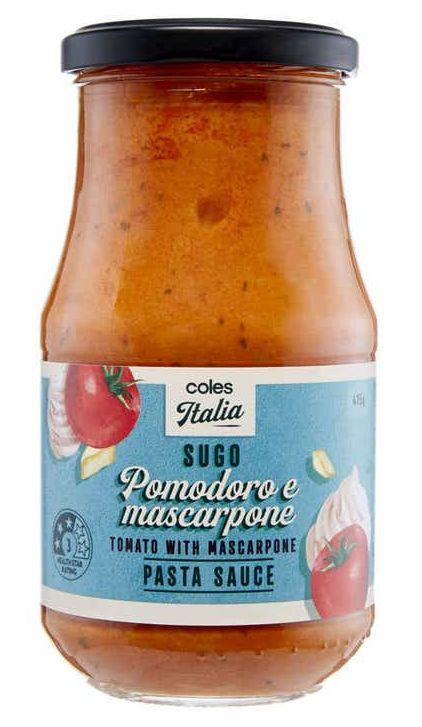 Coles pasta sauce review