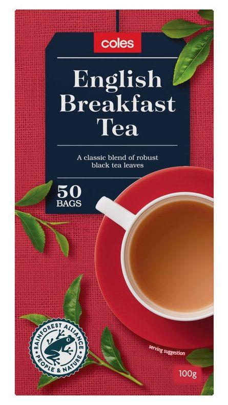 Coles tea review