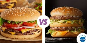 Big Jack Burger & Big Mac Burger