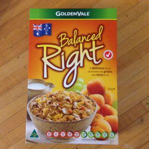 Best breakfast cereal (GoldenVale)