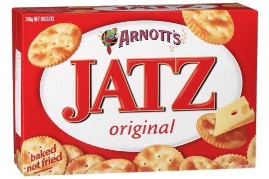 Jatz crackers review